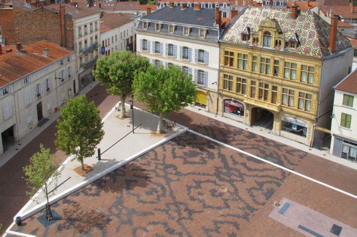 Place du Marché - Roanne - Août 2012